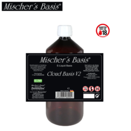Mischer´s Basis Cloud Basis V2 - Ethanol Base 1000 ml