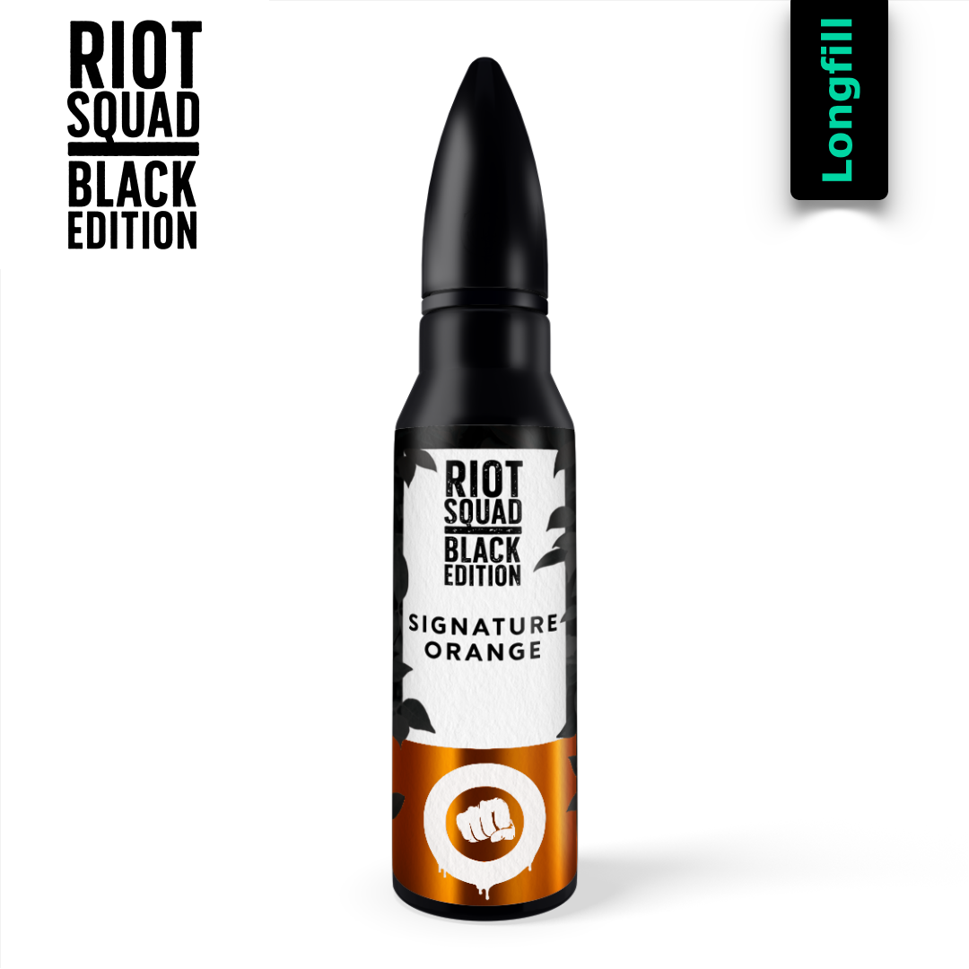 Riot Squad Black Edition Signature Orange Aroma Longfill