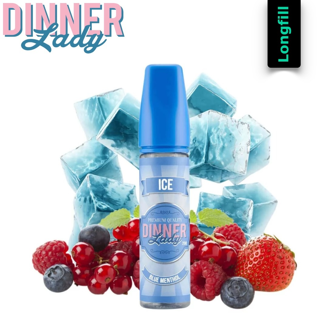Dinner Lady Blue Menthol Longfill Aroma