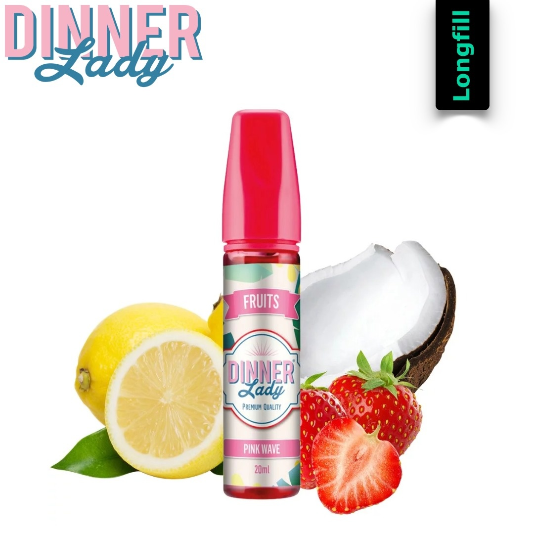 Dinner Lady Pink Wave 20 ml Longfill Aroma