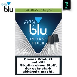 myblu Liquidpod Menthol Intense Touch 1,5 ml