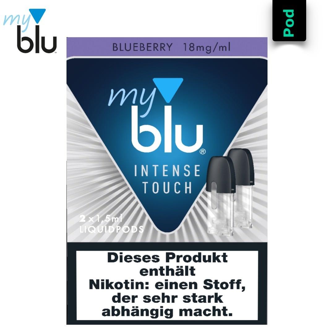 myblu INTENSE TOUCH Liquidpod Blueberry
