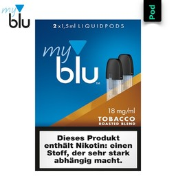 myblu Liquidpod Tobacco Roasted Blend 1,5 ml