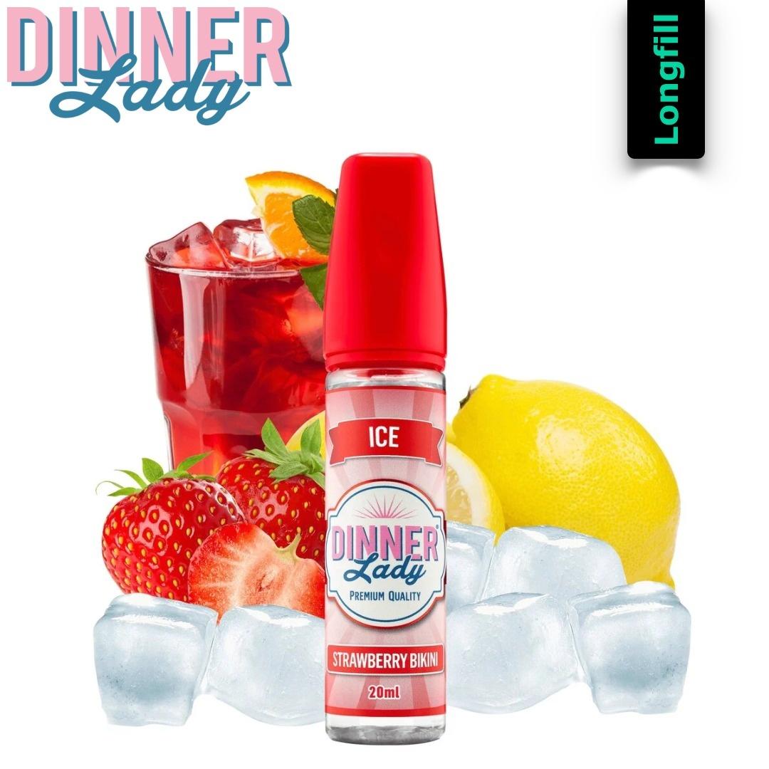 Dinner Lady Strawberry Bikini 20 ml Longfill Aroma