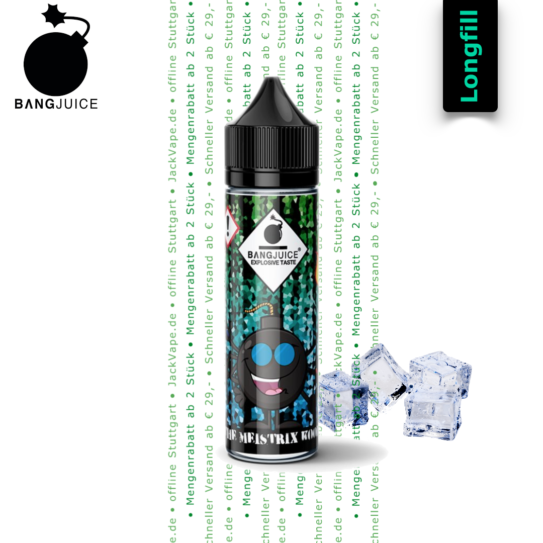 Bang Juice The Meistrix Kool 15 ml Longfill Aroma