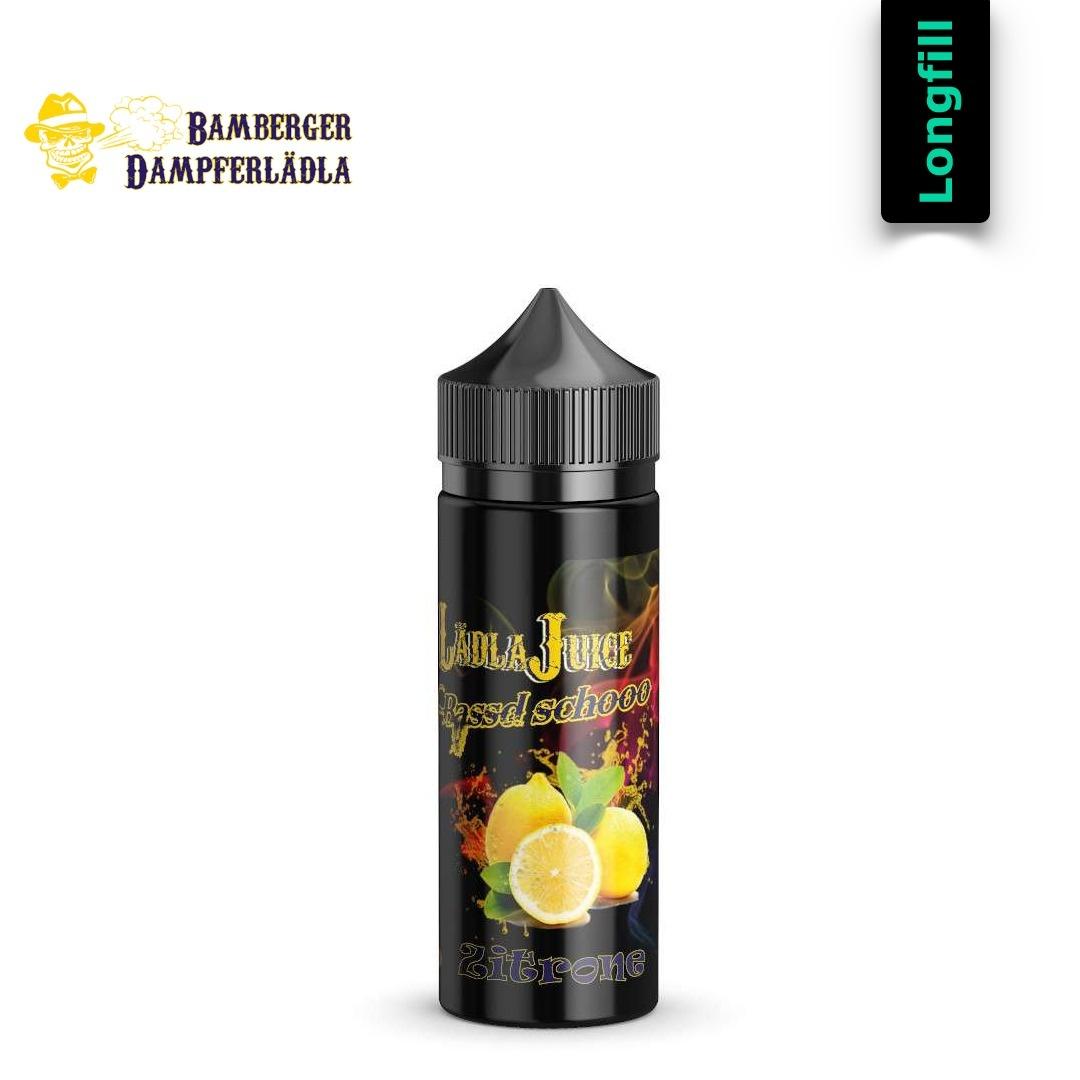 Lädla Juice Bassd schooo - Zitrone 20 ml Longfill Aroma