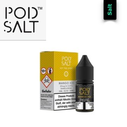 Pod Salt Mango Iced 10 ml Liquid