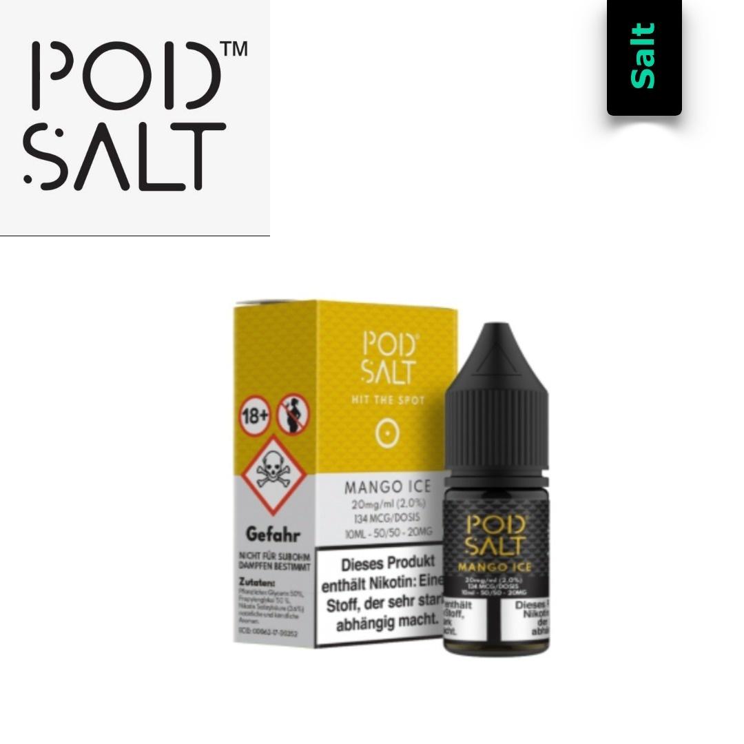 Pod Salt Mango Ice E-Liquid 10 ml