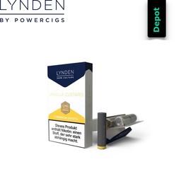 Lynden Liquids & Hardware Vanilla Custard Depots 0,9 ml (5er Pack)