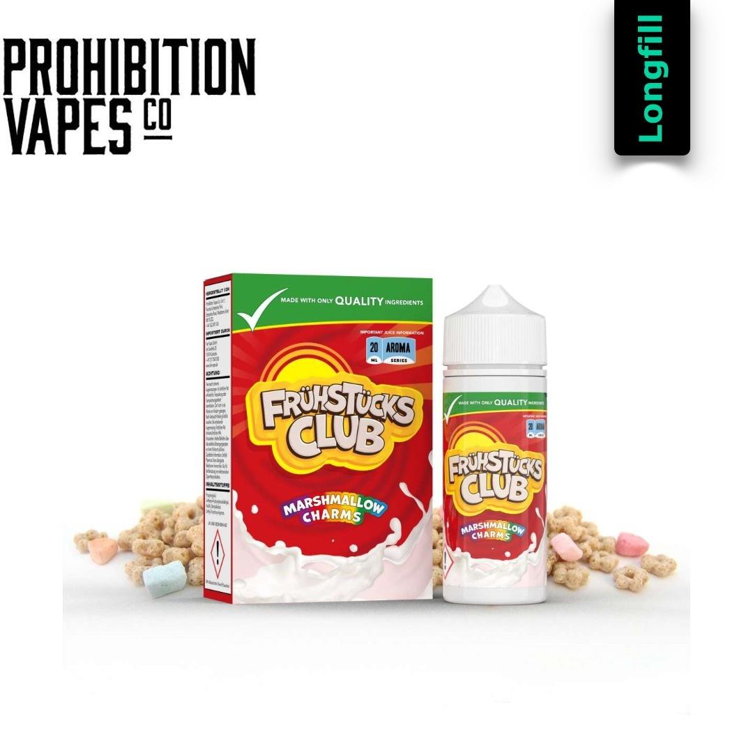 Prohibition Vapes Marshmallow Charms 20 ml Longfill Aroma