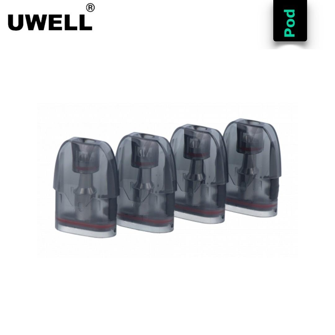Uwell Tripod Ersatz Pod (4er Pack)