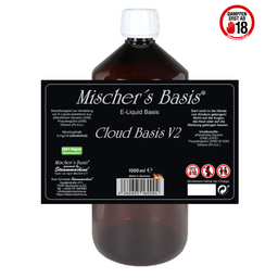 Mischer´s Basis Cloud Basis V2 Basen Bundle 3 mg 1000 ml