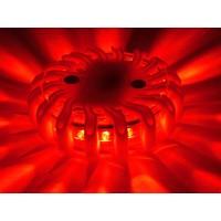 thumb-Oranje waarschuwingslamp - magnetisch en oplaadbaar-2