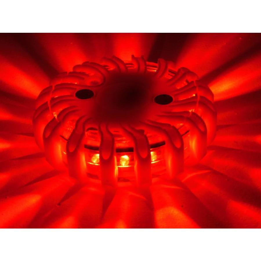 Oranje waarschuwingslamp - magnetisch en oplaadbaar-2