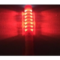 thumb-LED toortslamp - orange - oplaadbaar-3