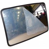 thumb-Miroir de circulation 'TRAFFIC INDUSTRIE' 400 x 600 mm - noir-1