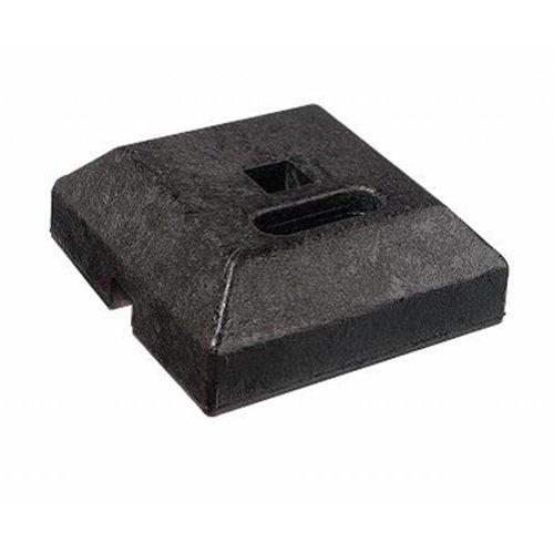 Voetstuk 'miniblok' - 15 kg
