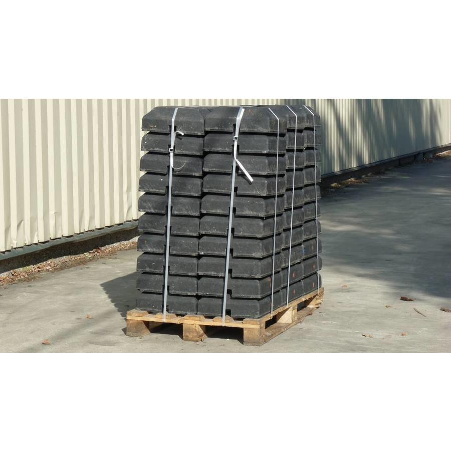 Pied de balise 'Minibloc' 15 kg (ouverture 40 x 40)-2