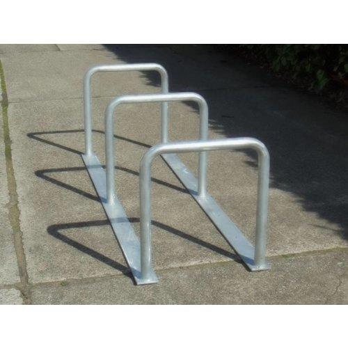 Range à vélos avec 3 arceaux 2000 x 600 x 650 mm
