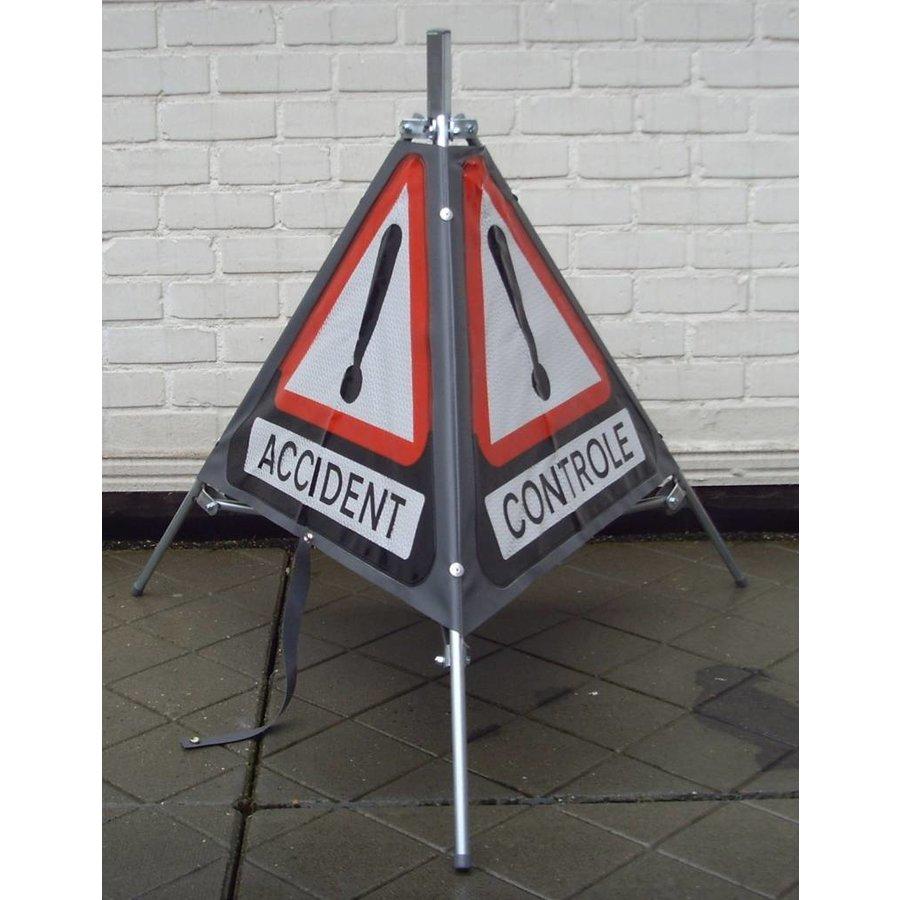 Signalisatiebord 'TRIPAN' - bord A51 - GEVAAR - opvouwbaar-2