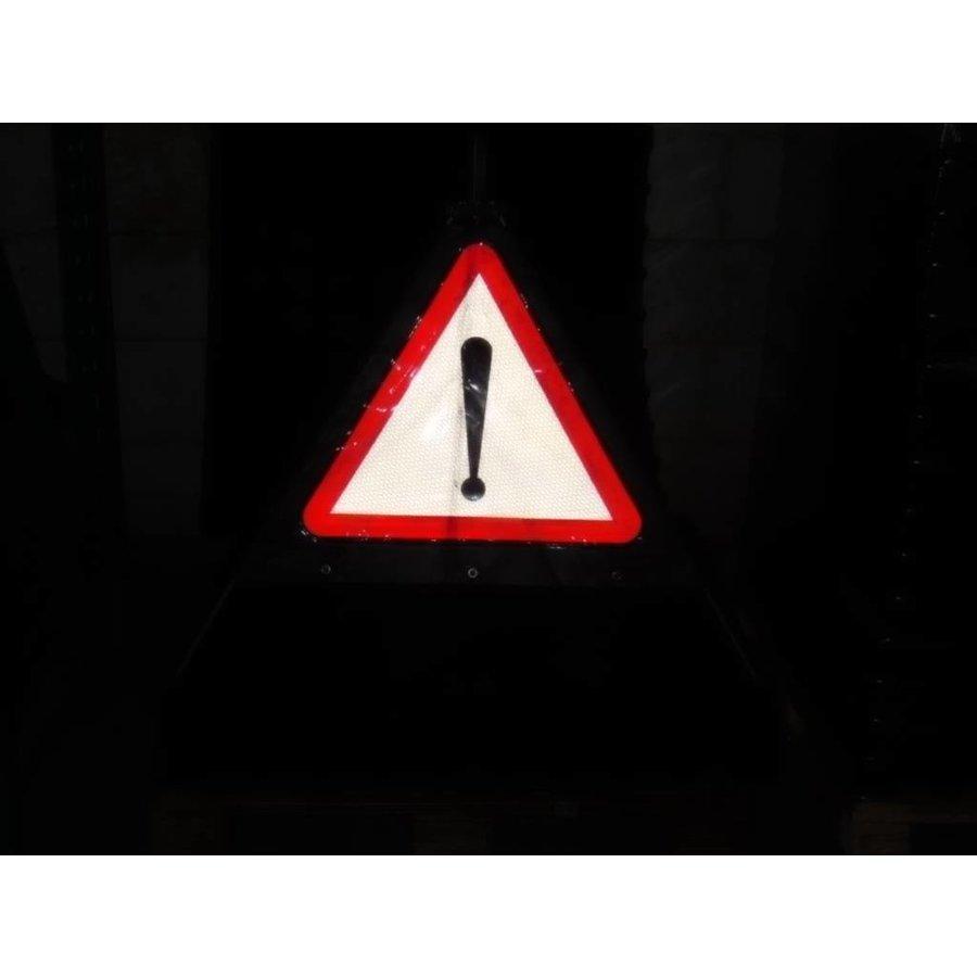 Signalisatiebord 'TRIPAN' - bord A51 - GEVAAR - opvouwbaar-4