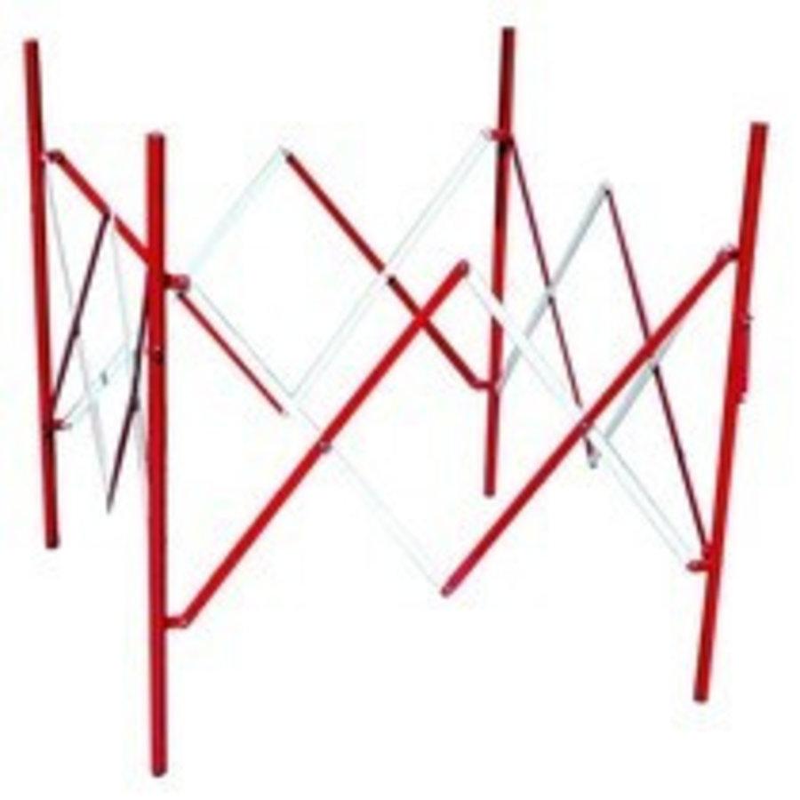 Vouwhek voor werven. vierkant 1 m²-1