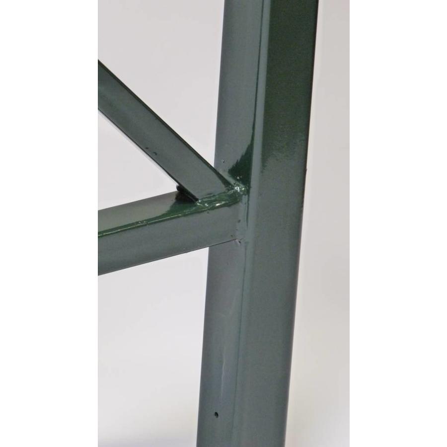 Barrières de Croix St. André 90 cm x 88 cm - Vert (RAL 6009)-3