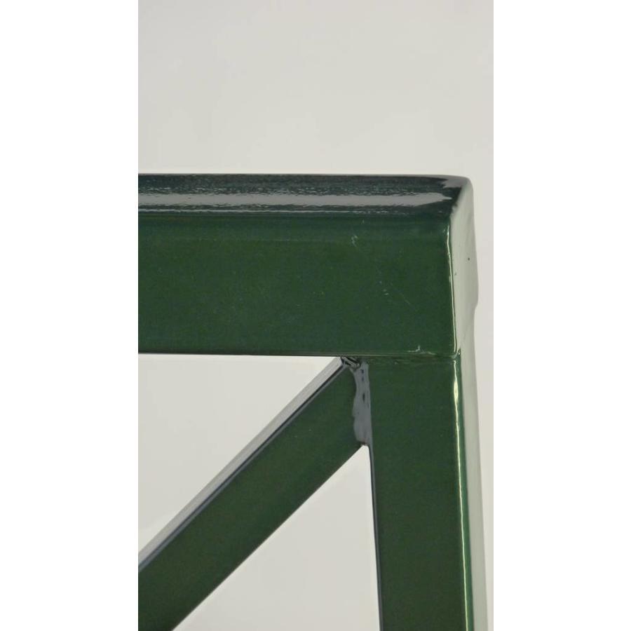 Barrières de Croix St. André 90 cm x 88 cm - Vert (RAL 6009)-4