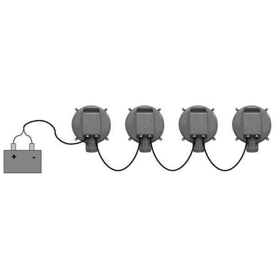 SET 5 SIGNALISATIE LOOPLICHTEN LED-5