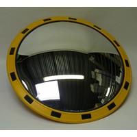 thumb-Miroir industrie Rond 800 mm avec cadres  en jaune et noir-4