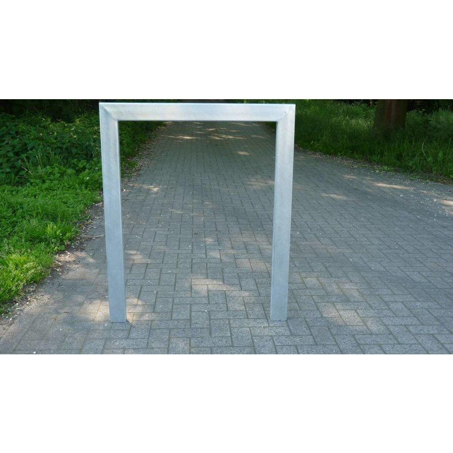 Arceau de vélo 1000 x 1200 mm - rectangulaire galvanisé-1