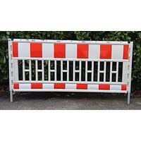 thumb-Werfhek Euro-barrier -  200 x 120 cm - rood/wit-2