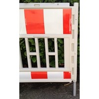 thumb-Werfhek Euro-barrier -  200 x 120 cm - rood/wit-4