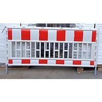 thumb-Werfhek Euro-barrier -  200 x 120 cm - rood/wit-5
