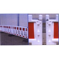thumb-Werfhek Euro-barrier -  200 x 120 cm - rood/wit-6