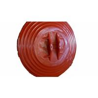 thumb-Rond miroir de circulation 'UNIVERSAL' 400 mm avec cadre rouge-4