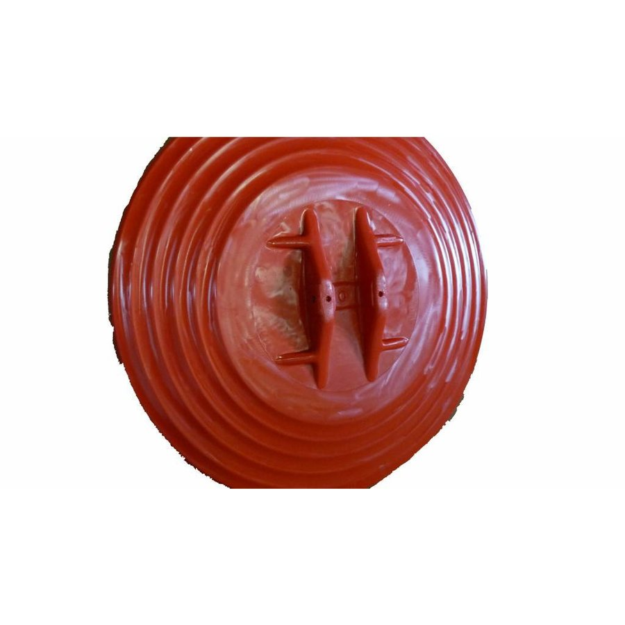 Rond miroir de circulation 'UNIVERSAL' 400 mm avec cadre rouge-4