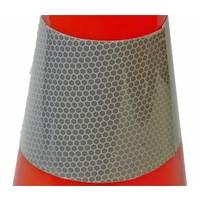 thumb-Cône de signalisation en PVC - 50 cm - Classe 2-3