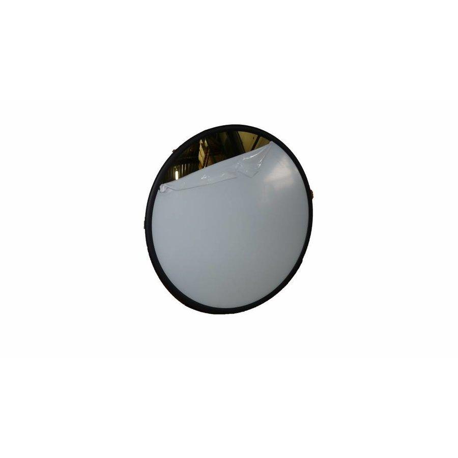 Veiligheidsspiegel - Anti diefstal - Rond 400 & 600 mm. zwarte kader-3