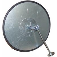 thumb-Miroir de sécurité - Antivol - Rond 400 et 600 mm. cadre noir-5