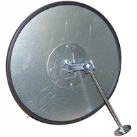 thumb-Veiligheidsspiegel - Anti diefstal - Rond 400 & 600 mm. zwarte kader-5