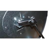 thumb-Veiligheidsspiegel - Anti diefstal - Rond 400 & 600 mm. zwarte kader-9