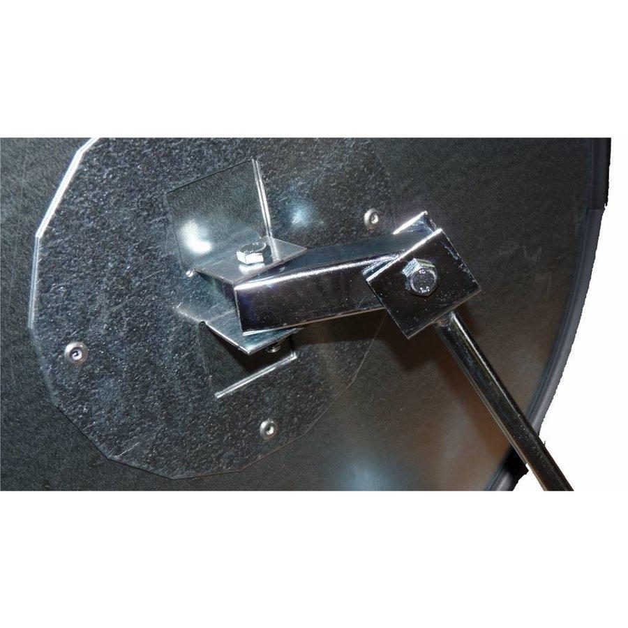 Veiligheidsspiegel - Anti diefstal - Rond 400 & 600 mm. zwarte kader-9