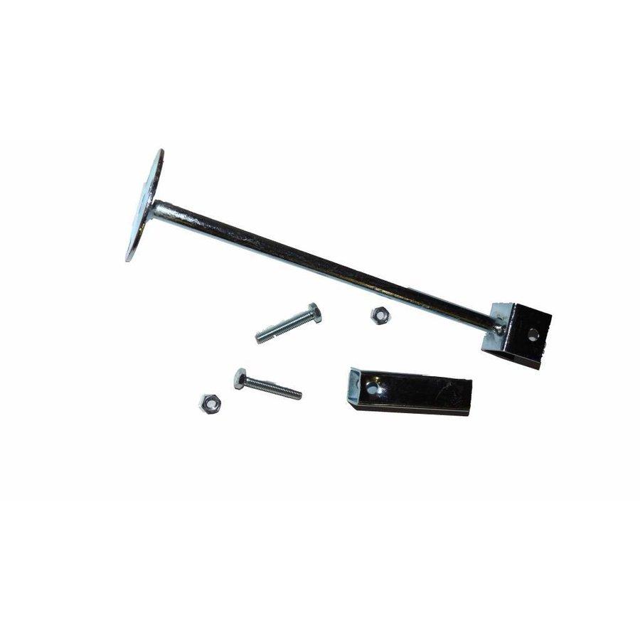 Veiligheidsspiegel - Anti diefstal - Rond 400 & 600 mm. zwarte kader-8