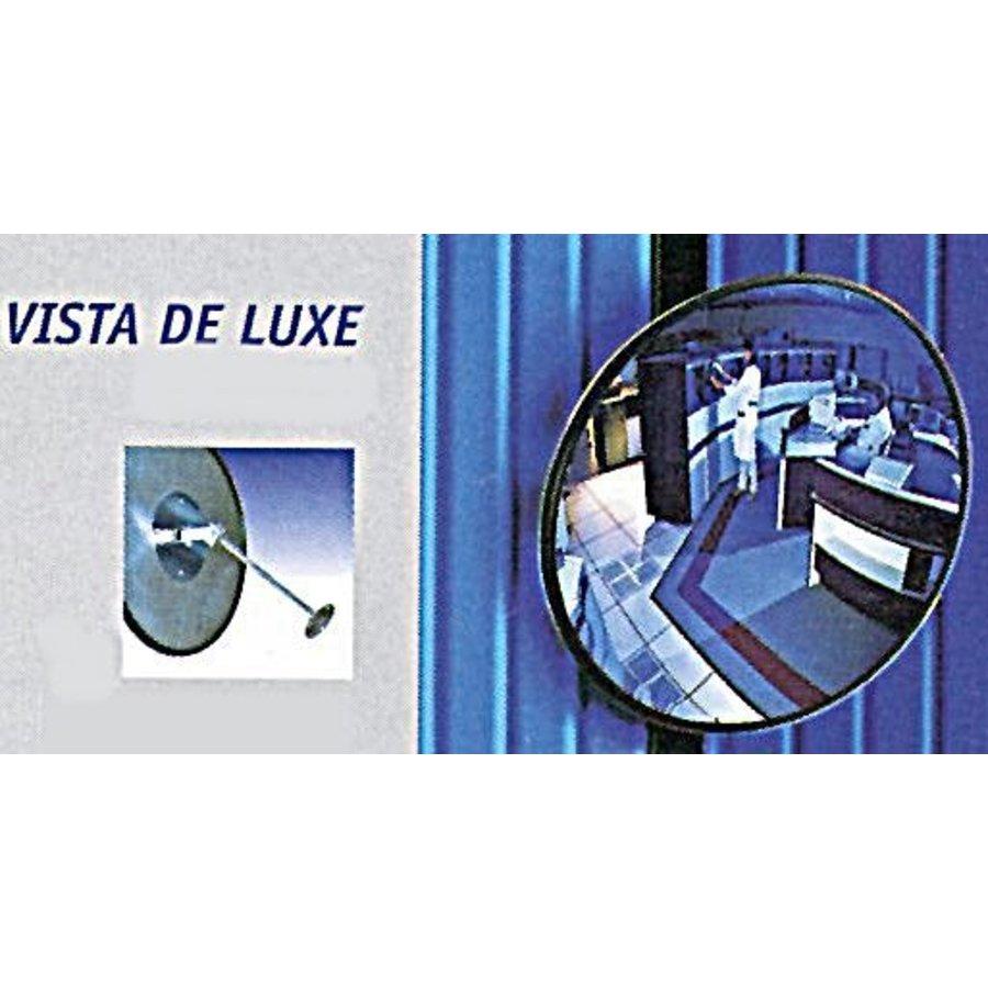 Miroir de sécurité - Antivol - Rond 400 et 600 mm. cadre noir-12