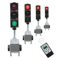 thumb-Feu tricolore portable pour chantier MPB 1400-4