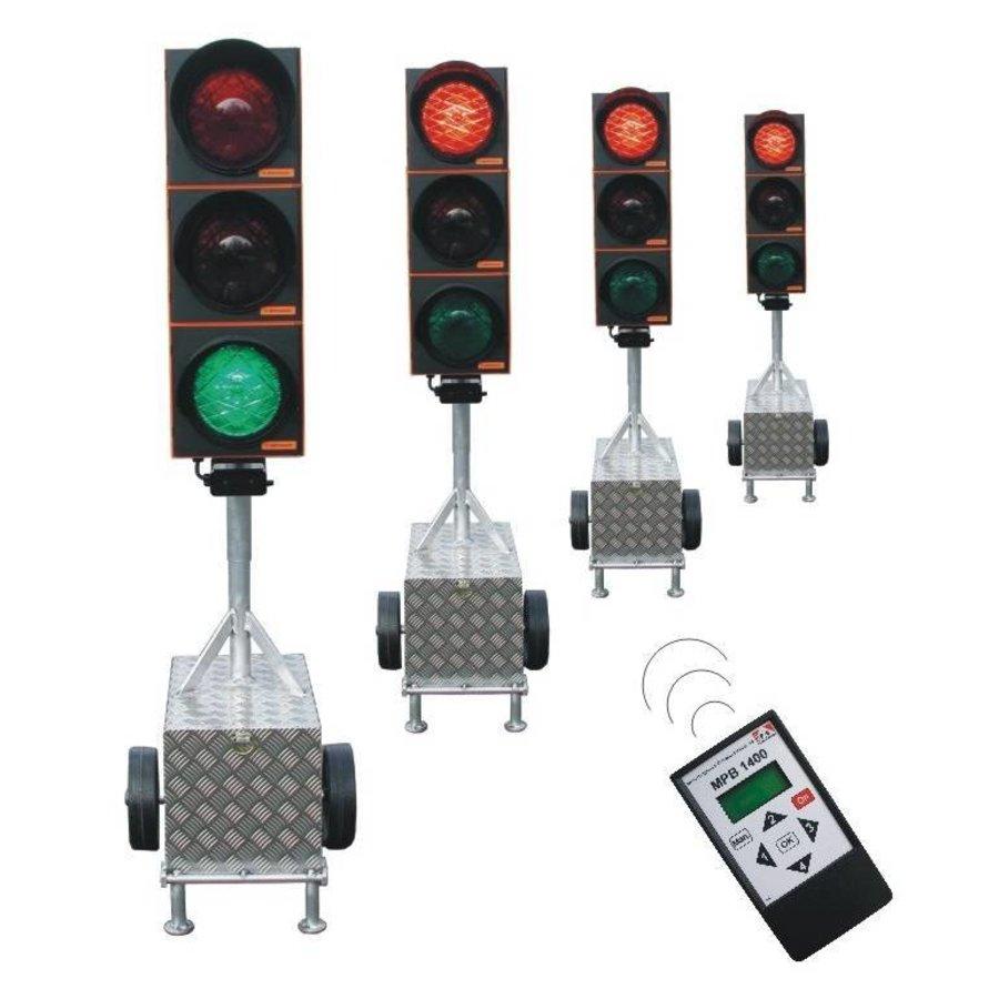 Tijdelijk verkeerslicht voor werven MPB 1400-4