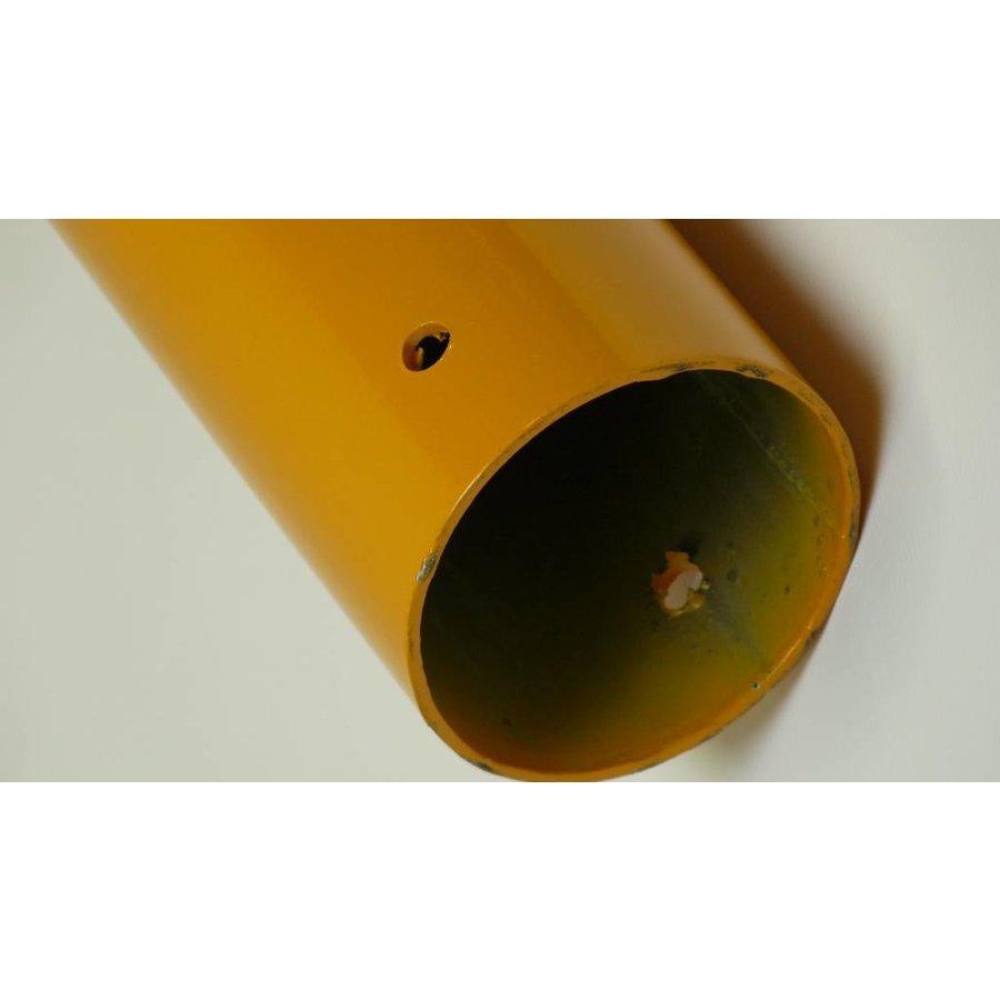 Poteau aluminium de 97 cm x Ø 60 mm. 4 crochets + soccle avec 2 réflecteurs-8
