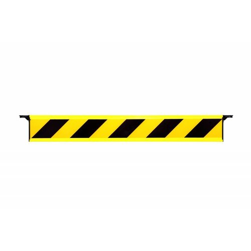 Vaste barrière plank met eindhaken
