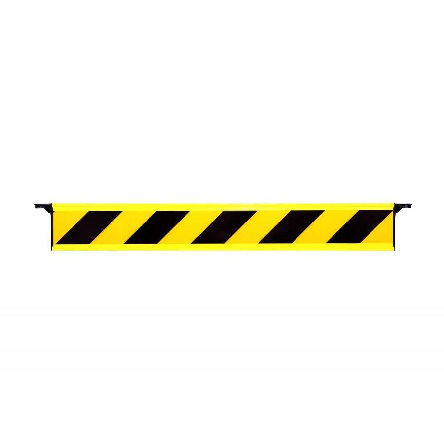 Barrière fixe rétroréfléchissante avec crochets d'extrémité-1